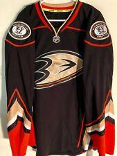 Reebok Authentic NHL Jersey Anaheim Ducks Team Black Alternate sz 54