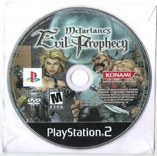 McFarlane's Evil Prophecy Playstation 2 PS2 Game GAME DISC ONLY!