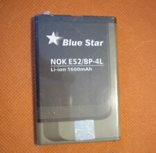 BATTERIA NOKIA E61i-BLUE STAR-NOK E52/BP4L-COMPATIBILE-Li-ion-1600mA-NUOVA-BULK