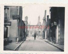 Foto, Zerstörungen in Givet an der Maas in Frankreich (N)20072