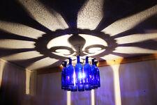 Unique Fleur de lis Shadow Light Bottle Chandelier Made in the USA