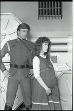 ROBIN MAXWELL PETER NELSON V THE VISITORS ORIGINAL 1984 NBC TV PHOTO NEGATIVE