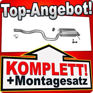 Endschalldämpfer für VW TRANSPORTER T5 2.0 TDi / BiTDi 2.5 TDi 4-Motion Auspuff