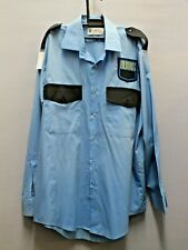 Vintage Burns Security Uniform , Blazer , Shirts, Trousers and Hat!!!