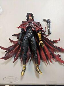 Genuine Authentic Square Play Arts kai Vincent Valentine Final Fantasy Figure