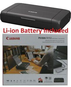 Canon Pixma TR150 Wireless Portable Mobile Inkjet Printer with Li-ion BATTERY ✅✅