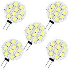 5 G4 10 5050 SMD LED Lampe Licht Birne Strahler Weiss DC12V GY