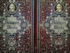 Shakespeare's Sammtliche Werke Vol I & II – Zweiter Band John Gilbert German