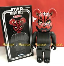 Medicom Be@rbrick Stussy 2016 Expo Star Wars 400% Darth Maul Sith Bearbrick 1pc