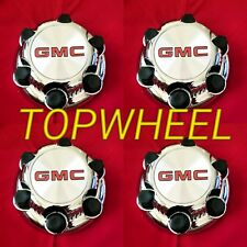 "4PCS Chrome GMC Sierra Yukon Savana 6 Lugs 1500 Center Caps 16"" 17"" Wheels NEW!!"