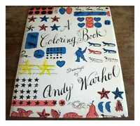 Un Livre de Coloriage - Drawings Par Andy Warhol A