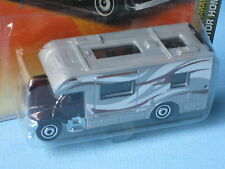 MATCHBOX Camper Van Caravane Tourer RV Maroon Camping jouet voiture modèle 70 mm de long