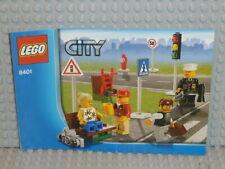 LEGO® City Bauanleitung 8401 City Minifigure Collection instruction B3758
