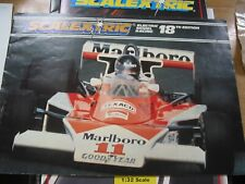 SCALEXTRIC  CATALOGUE 18TH   EDITION 1977 EXCELLENT CONDITION WITH PRICE LIST