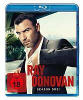 4 Blu-rays * RAY DONOVAN - SEASON / STAFFEL 3 - FSK 18 # NEU OVP +