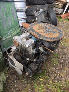 Mercedes Benz, Straight 6, twin cam, M110 complete engine & autobox G wagon #139