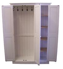 Hall Storage Cupboard Coats/Toys/ Boot Room/Utility - 3 Door Farrow & Ball Paint
