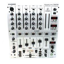 Behringer DJX 700 DJ FX Mischpult Mixer 5 Kanal BPM Zähler Effektgerät +/GEWÄHR/