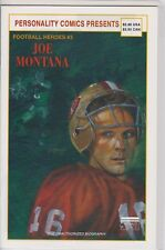 JOE MONTANA PERSONALITY FOOTBALL HEROES #3 COMIC BOOK (1992)