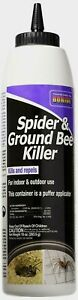 Bonide *SPIDER & GROUND BEE KILLER* Insect Repels Hard-to-Reach Areas 10 oz NEW!