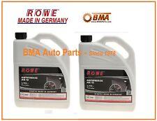 NEW OEM Audi Volkswagen 2x G13 Gallons Engine Coolant Antifreeze Rowe G013A8J1G