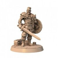 KING HARALD VIKINGS SCALE 32mm MORDHEIM ZOMBICIDE DnD ROL WARHAMMER