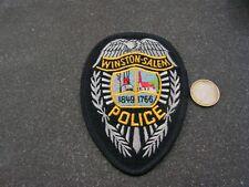 PATCH POLICE ECUSSON COLLECTION  USA   police winston salem