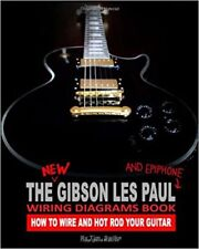 Gibson Les Paul Guitar Body Building DIY Unfinished Wiring Kit Book on CD