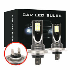 H7 200W Car LED Headlight Fog Bulbs 2PCS CREE Kit 6000k HID Canbus Error Free