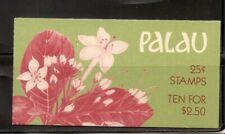Palau, SC # 133a  Indigenous Flowers- Koror Overprinted - . MNH