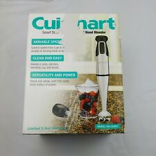 Cuisinart Smart Stick Variable Speed Hand Blender W Whisk 3 Cup used once works