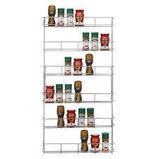 6 Livello Spice salsa RACK BARATTOLO/Bottiglia Scaffale di archiviazione per Armadio Da Cucina Porta
