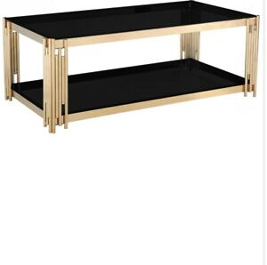 Cleveland Black Coffee Table