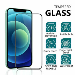 Tempered Glass For iPhone 12 Mini 12 12 Pro 12 Pro Max Full Screen Protector HD