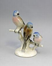 Porzellan Figur Vogelgruppe Buchfinken Gräfenthal  9943252