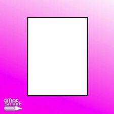 5 Sheets Full Sticker Matte White Blank Shipping Label 5165-Paper 8.5 x 11