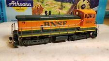 Athearn BNSF sw1000 Switcher Locomotive train engine HO sw7, sw1500