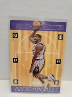 1999-00 Upper Deck VINCE CARTER Rookie Watch #316 Toronto Raptors