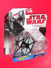 Hot Wheels Star Wars FIRST ORDER TIE FIGHTER  Starships  FBB29 THE LAST JEDI