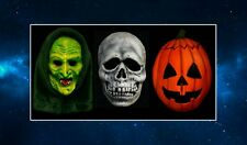 The Three Masks Fridge Magnet. NEW Inspired by Halloween III / 3. Pumpkin, Witch