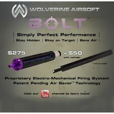 Wolverine Airsoft BOLT HPA system for VSR-10 w/ cylinder FREE SHIP FREE INSTALL