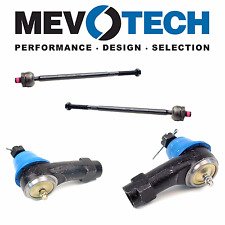 For Ford Focus 2000-2005 Pair Set of 2 Front Inner & Outer Tie Rod Ends Mevotech