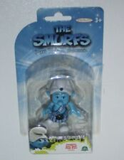 FIGURE I PUFFI CARTOON MOVIE THE SMURFS LOS PITUFOS-PUFFO CORAGGIOSO GUTSY SMURF