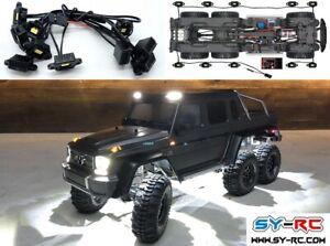 SY-RC Rock Light Kit / Wheel Eyebrow Light Kit fit for Traxxas TRX-6 G63 AMG 6*6