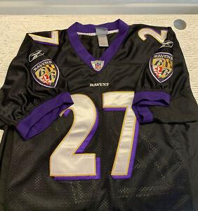 Reebok On Field Stitched Baltimore Ravens ray Rice 27 Size 48 Black