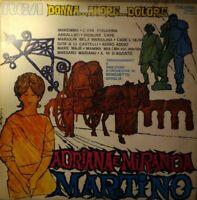 VINILE LP ADRIANA E MIRANDA MARTINO - DONNA AMORE DOLORE 33 GIRI 1971 PSL 10508