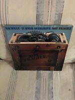 "BachmanTurneOverdrive (BTO) ""Not Fragile"" Vinyl1974 LP/Album Mercury/Phonogram"