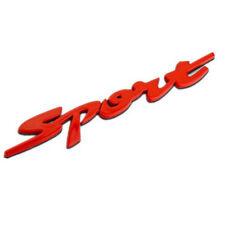 Car Badge Sport 5'' Metal Chrome for Highlander Prado Rav4 Trunk Emblem Sticker