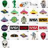 #1548R Alien UFO Galaxy NASA Children Kids Embroidered Sew Iron On Patch Badge