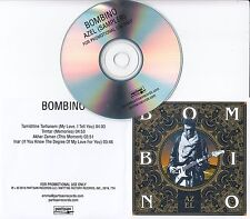 BOMBINO Azel Album Sampler 2016 UK 4-track promo only CD